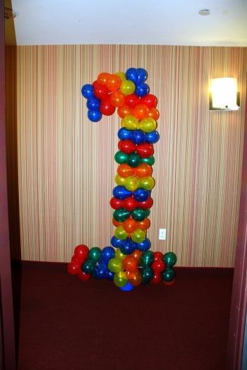 Birthday Number Balloon